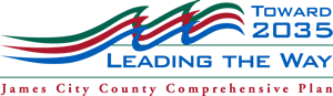 Toward 2035 Leading the Way James City County Comprehensive Plan Logo