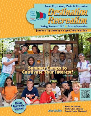 Parks Spring/Summer 2017 Destination Recreation Brochure