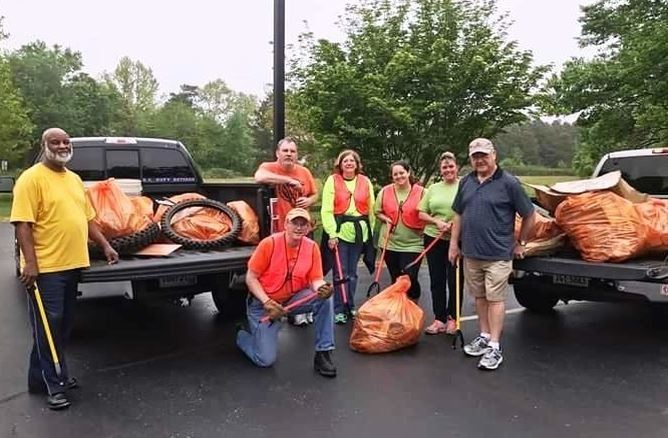 JCC Ruritans Countywide Spring Cleanup 2017
