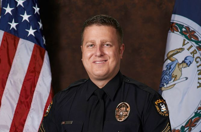 Master Officer Zach Miller, Officer of the Year