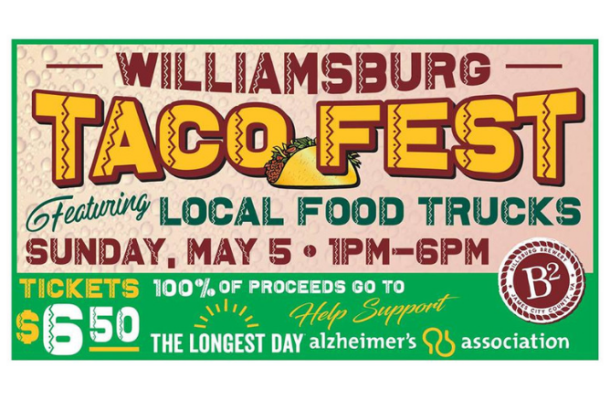 Williamsburg Taco Fest event banner