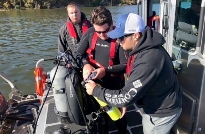 Underwater Search & Recovery Team Training